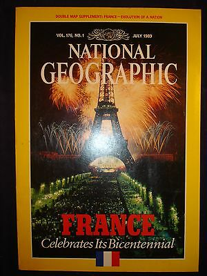 National Geographic July 1989 - France, Bicentennial