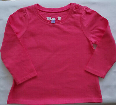 New Ex John Lewis Baby Girls Toddler Long Sleeve T-Shirts 7 Colours NB - 3 Years