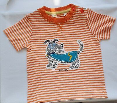 New Ex John Lewis Baby Boys Toddler Short Sleeve T-Shirt 0-3 Months T-Shirts & Tops 2-3 Years