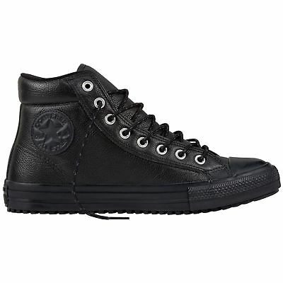 180b0e5803ee Converse Chuck Taylor All Star Boot PC Hi Black Unisex Leather High-top  Trainers