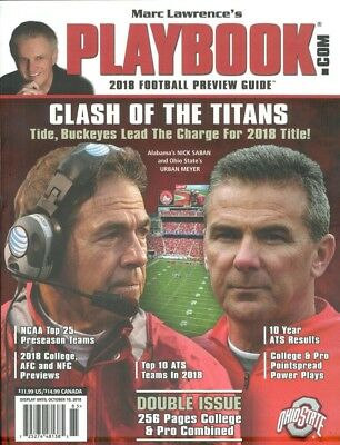 Marc Lawrence's Playbook 2018 Football Preview Guide