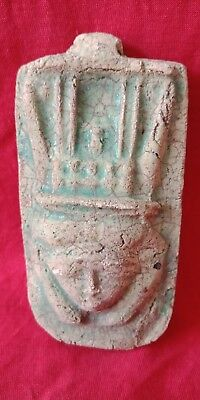 Hathor Egyptian Figurine Ancient Art Motherhood Egypt Sculpture antique mask