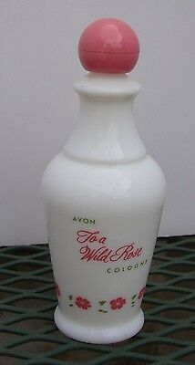 Avon To a Wild Rose Collector Perfume Bottle