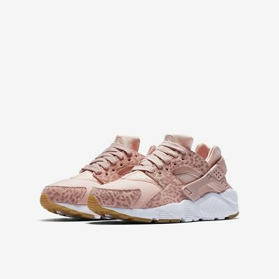 ad5548227351 Girls Nike Huarache Run SE (GS) 904538-603 Coral Stardust Brand New Size