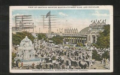 Canada, toronto, Canadian National Exhibition.  posted Postcard 1930