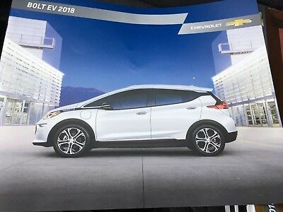 2018 CHEVY BOLT EV 18-page Original Sales Brochure