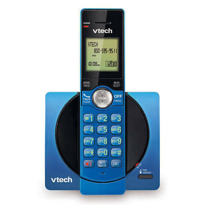 VTech Cordless Telephone w/ Caller ID Display CS6919-15 - Blue/Black -SHIPS FREE