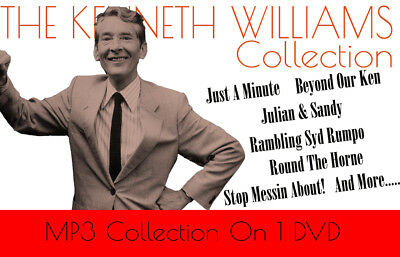 Kenneth Williams Collection, OTR Comedy MP3 DVD Carry On,Round The Horne