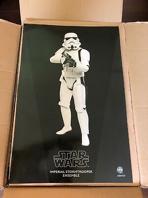 ANOVOS STAR WARS STORMTROOPER COSTUME COMPLETE new in box IMPERIAL never worn