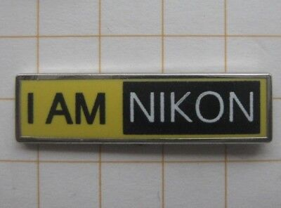 I AM NIKON / CAMERA / FILM ............... Foto Pin (118h)