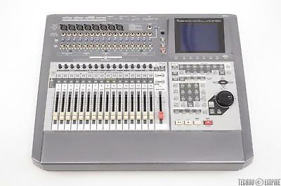 Roland VS-2480 Digital Studio Workstation w/ Case & 4 VS8F-2 Effect Cards #31269