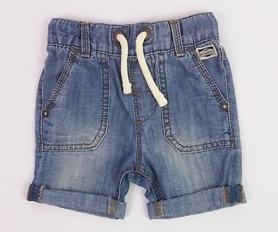 Baby Boys NEXT Distressed Denim Shorts 6-9,9-12 & 18-24 Mths BNWT Comb Postage