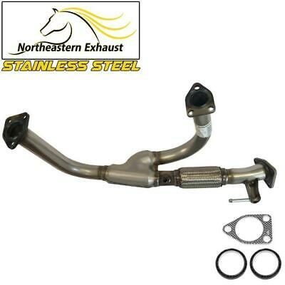 Stainless Steel Exhaust Front Flex Y-Pipe fits: 1999-2004 Honda Odyssey