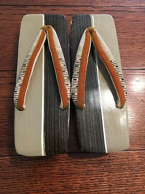 ANTIQUE Japanese Geta Shoes FROM JAPAN