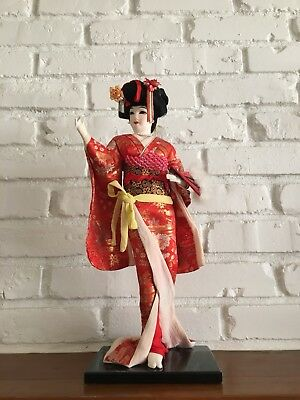 Antique Japanese Geisha Doll From Japan