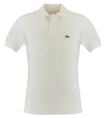 a5687828 LACOSTE CLASSIC POLO shirt, white color for men Lacoste 1212001 ...