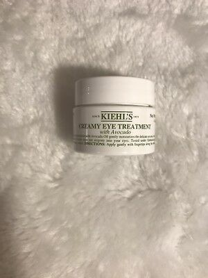 Brand New KIEHL'S Creamy Eye Treatment with Avocado Full size .5oz/14g
