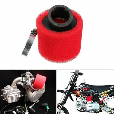 38mm 45 Degree Double Foam Angled Air Filter Pod Cleaner 110cc 125cc Useful