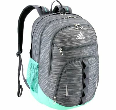 06036596736f NWT Adidas Prime III Laptop Backpack Onyx Energy Aqua Student