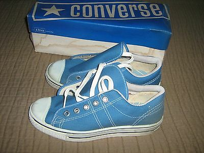 Converse Straight Shooter in HTF Light Blue, Old Stock, Size Boys 2 1/2