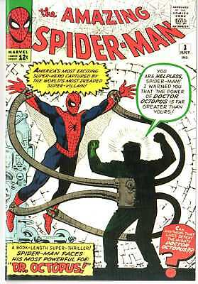 Amazing Spiderman 3 1ST DR. OCTOPUS Custom Made Cover REPRINT 1ST DOC OC