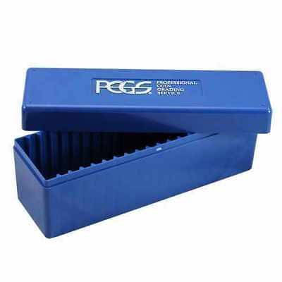 *PCGS Blue Storage plastic box used*