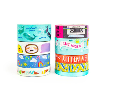 We R Memory Keepers Apricot Chevron Washi Tape