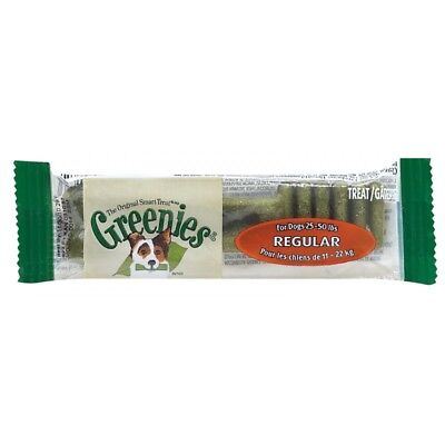 Greenies Regular 1 pz 28 gr osso igiene orale masticativo cani media taglia