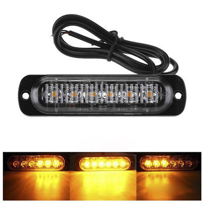 6LED 18W Spot LED Work Light Bar Lamp Driving Fog Offroad SUV 4WD Car Boat Truck