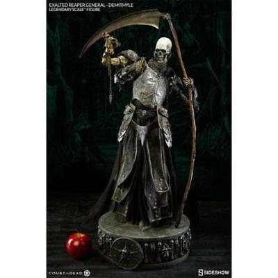 Court Of The Dead.demithyle Exalted Reaper General Statue Sideshow