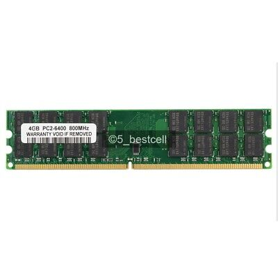 New Samsung 4GB DDR2-800MHz PC2-6400 32CPS 240PIN Fit AMD Motherboard memory
