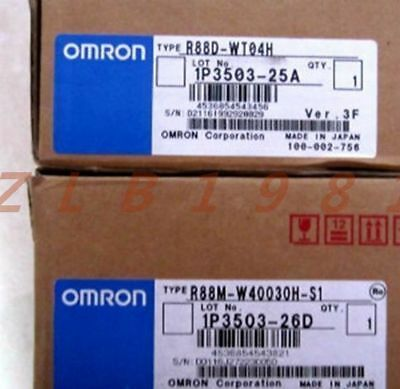 One Omron Driver R88D-WT04H NEW-