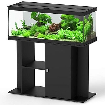 Aquarium and Stand Sets Freshwater Black Energy Efficient Lighting and Heating