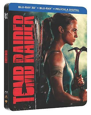 Tomb Raider 3D - Blu-ray Steelbook - NEW / SEALED - All Region: ABC
