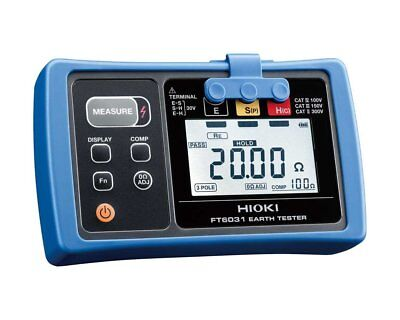Hioki FT6031-03 Ground Resistance Tester Dustproof and Waterproof from Japan