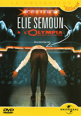 DVD - ELIE SEMOUN A L'OLYMPIA [Universal - Collection Humour] Spectacle - NEUF