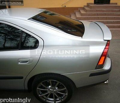 Trunk Spoiler for VOLVO S60 04-10 TAILGATE TRIM boot wing back R-Line