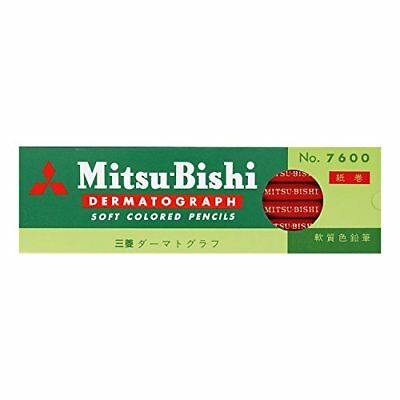 Mitsubishi Pencil pencil oily grease pencil No.7600 Red dozen K7600.15 F/S JP