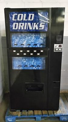 Dixie Narco 501e Soda Machine ~ 9 Selections Live Display