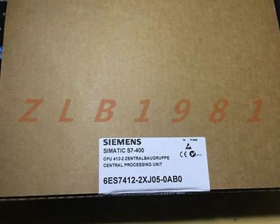 One Siemens 6ES7412-2XJ05-0AB0 NEW-