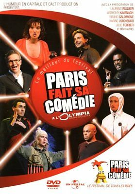 DVD - PARIS FAIT SA COMEDIE A L'OLYMPIA [Collection Humour] Spectacle - NEUF