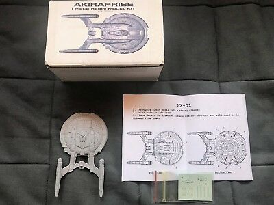 STAR TREK: Enterprise NX-01 - Resin Kit - mit Decals - 1:1400 - Akiraprise - RAR