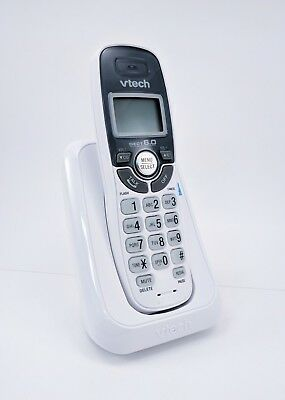 VTech CS6114 DECT 6.0 Cordless Phone w/Caller ID & Call Waiting White SHIPS FREE