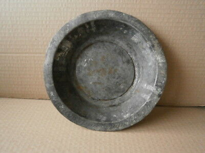 an ancient 18th century copper plate