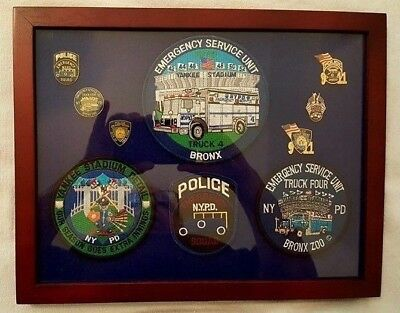 New York City Police Department Emergency Service Truck 4 Tribute Plaque ~ Esu
