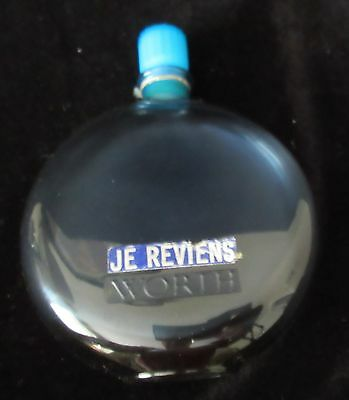 RARE ANTIQUE 'Rene LALIQUE Je Reviens Worth' ART GLASS PERFUME BOTTLE, c1930