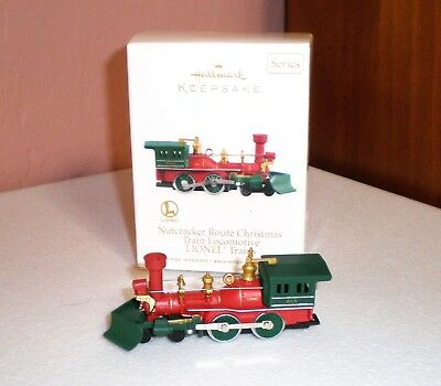 "2012 Hallmark Keepsake Ornament ""Nutcracker Route LIONEL Train Locomotive"" NIB"