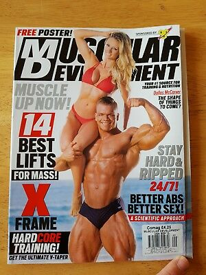 Muscular development magazineSeptember 2015 issueFeat. Dallas McCarver