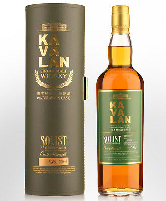 Kavalan Solist Ex-Bourbon Cask Strength Single Malt Taiwanese Whisky (700ml)