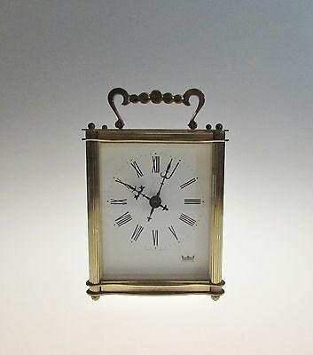 Smiths Astral Carriage Clock with Electro-mechanical movement fully working